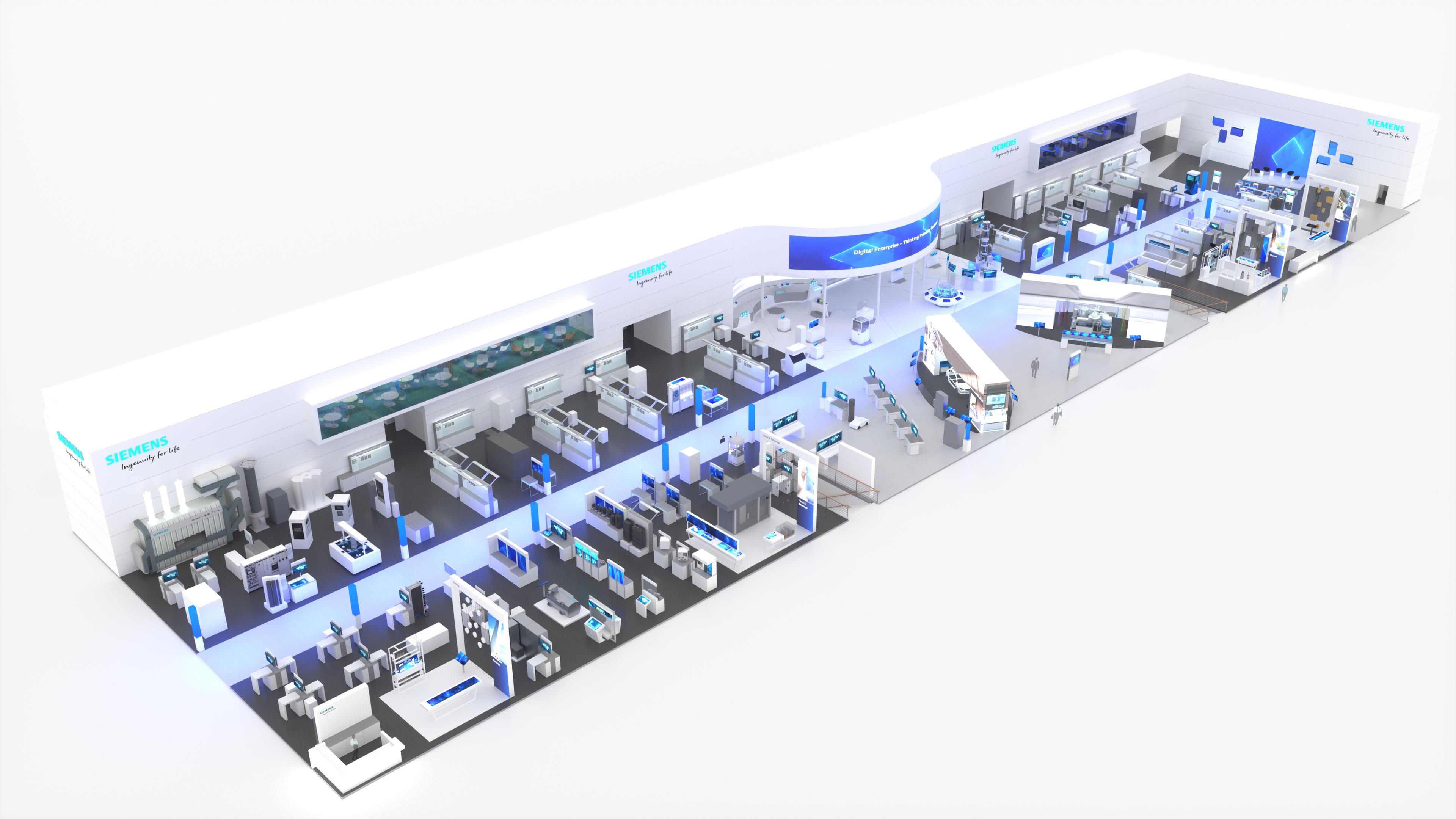 Siemens presentará un completo portfolio de soluciones pensadas para empresas de todos los tamaños y sectores (Siemens)