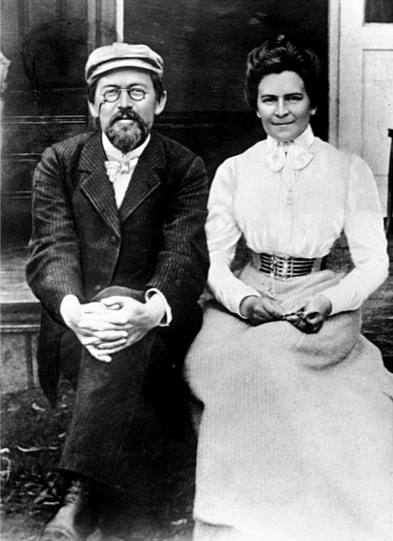 Antón Chéjov y Olga Knipper. - Sputnik