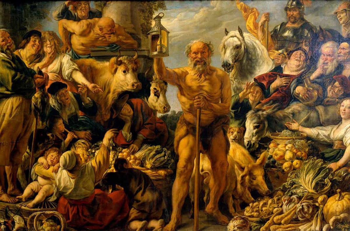 Filósofos de la antigüedad - Diógenes de Sinope