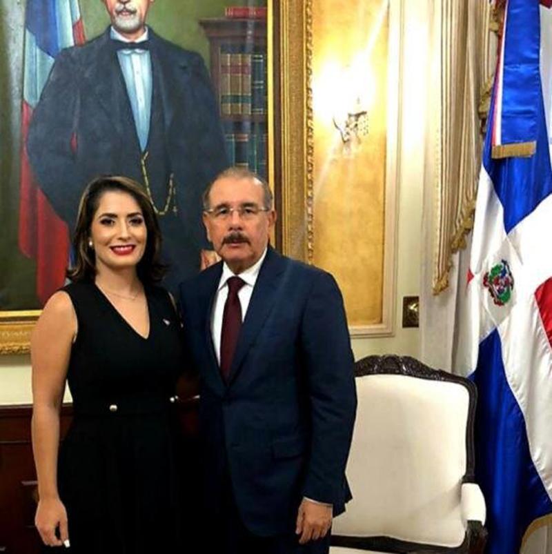La embajadora de la República Dominicana en Argentina, Marjorie Espinosa