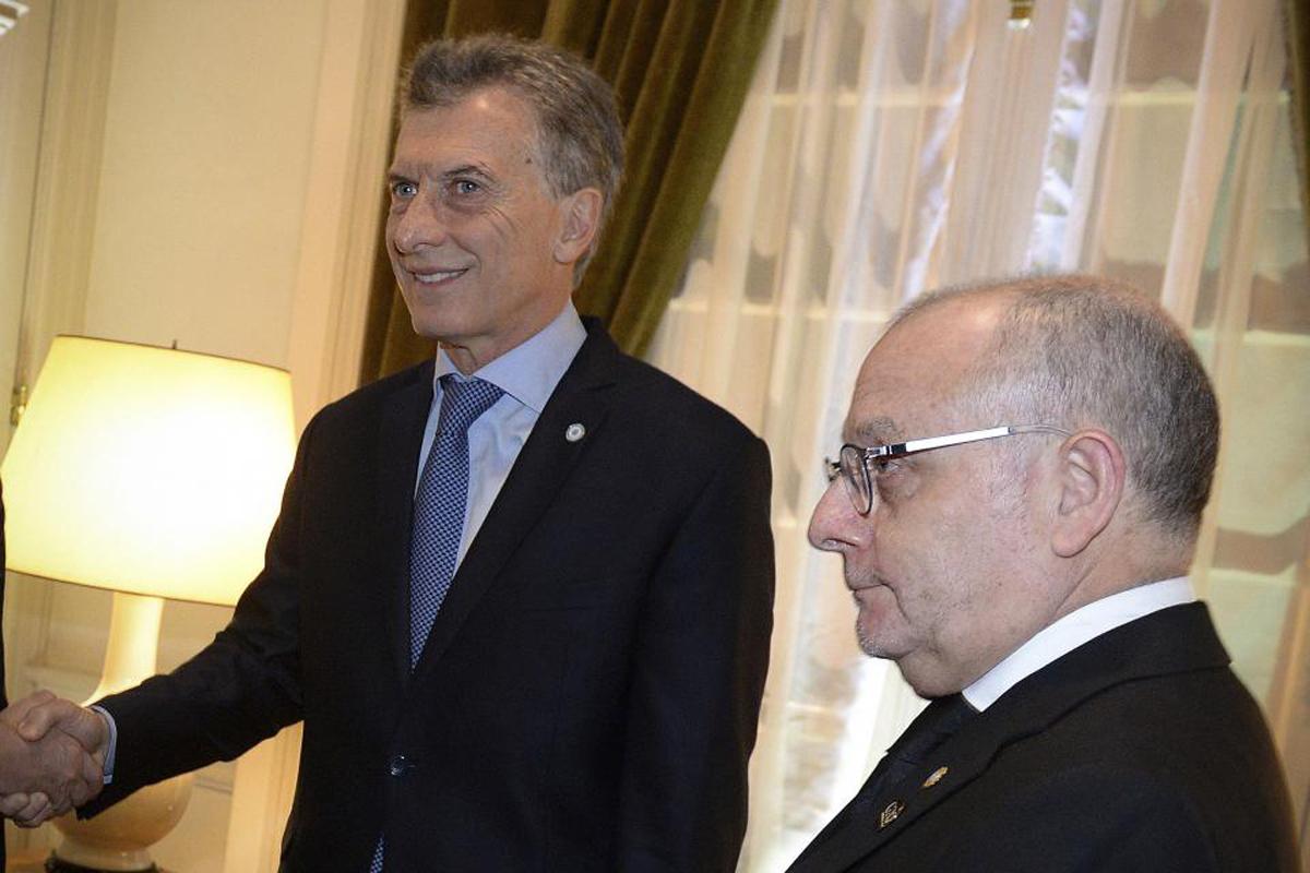 Macri y Faurie, deudas ante el mundo. -  Imagen: NA
