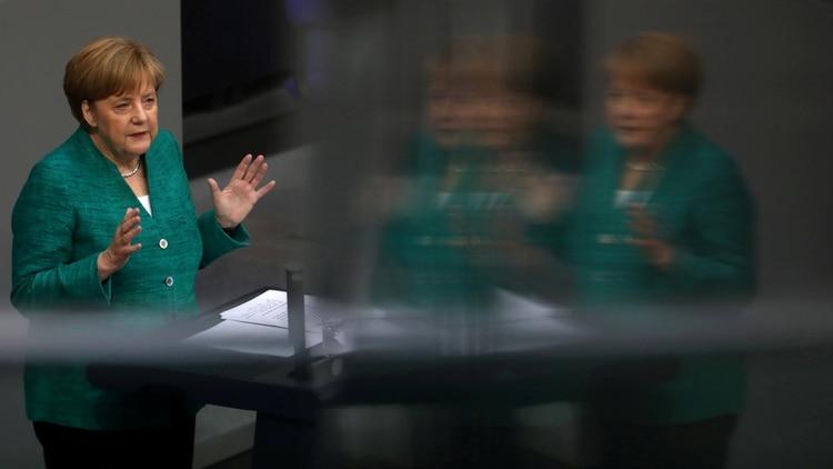 Angela Merkel, Canciller alemana (REUTERS/Christian Mang)