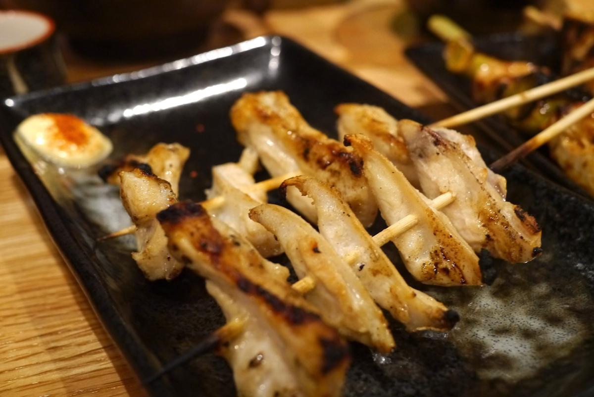 Nankotsu, son cartílagos de pollo muy protéicos