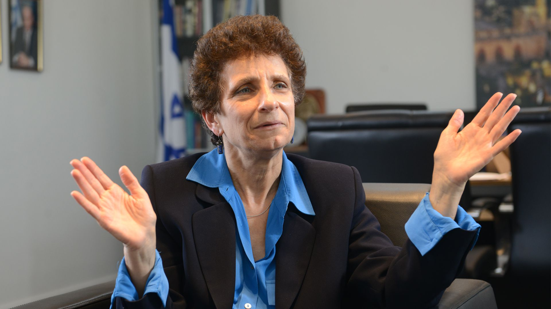 Galit Ronen actual embajadora de Israel en nuestro país