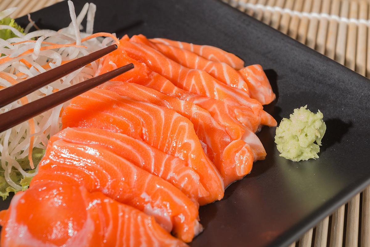 Cocina Japonesa clásica - Sashimi de salmón