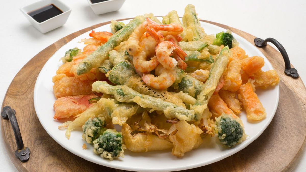 Cocina Clásica japonesa - Tempura