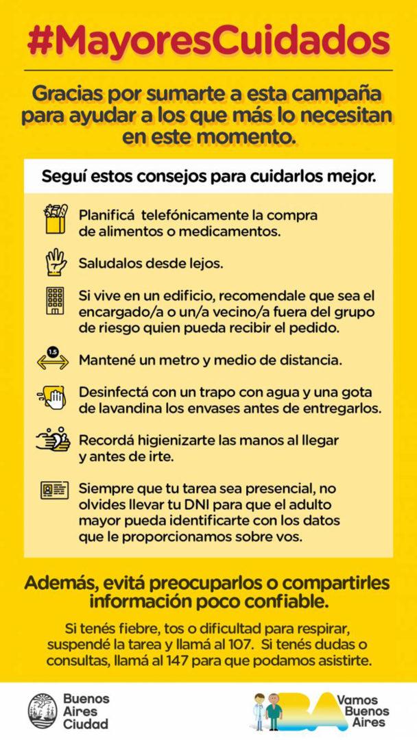 #MayoresCuidados, programa de voluntariado