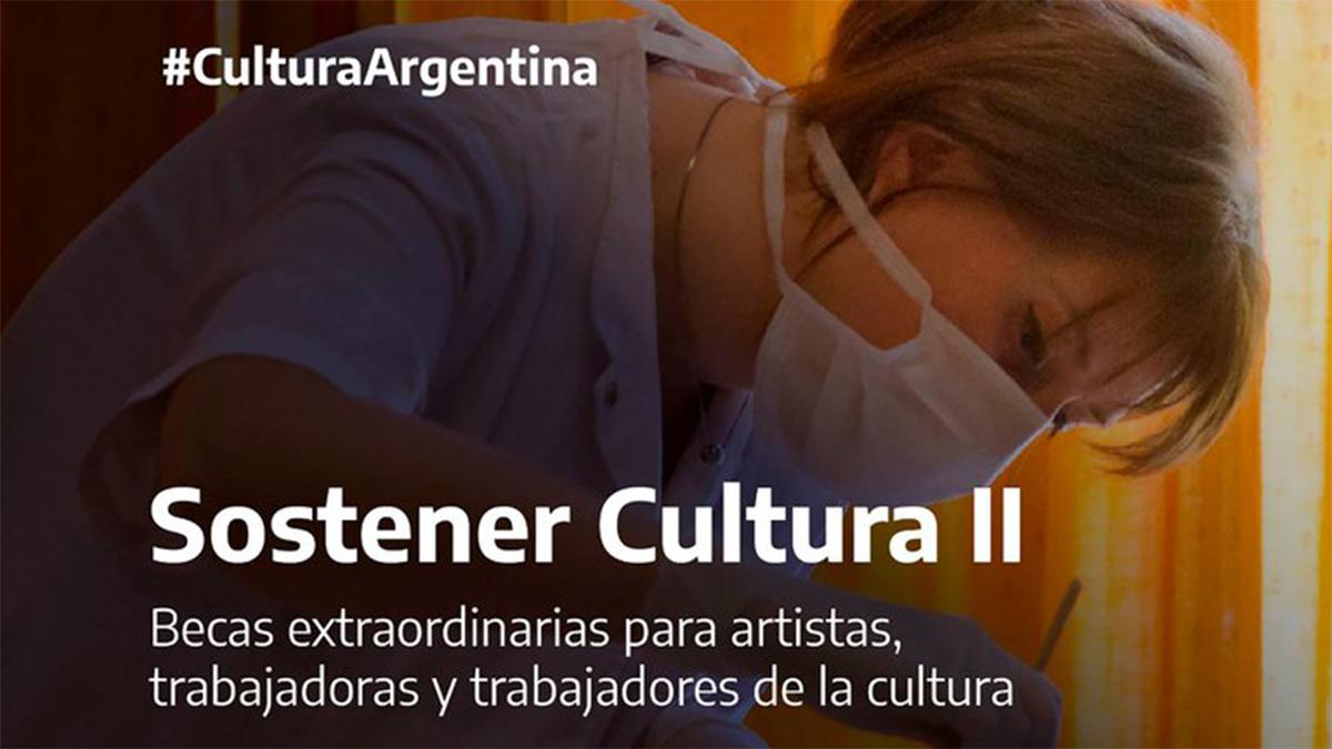 Abrió la convocatoria para las Becas Sostener Cultura II: todo lo que tenés que saber