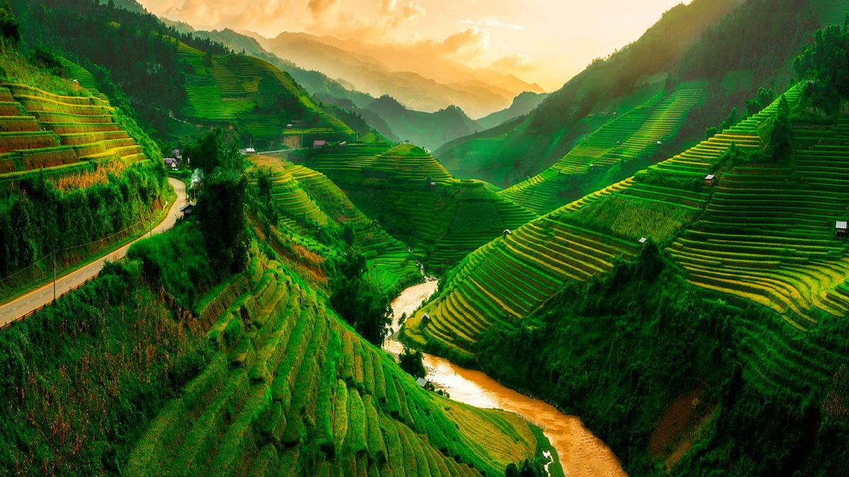 """Vietnam, es sin lugar a dudas un """"Pueblo de Desarrollo Sostenido"""""""