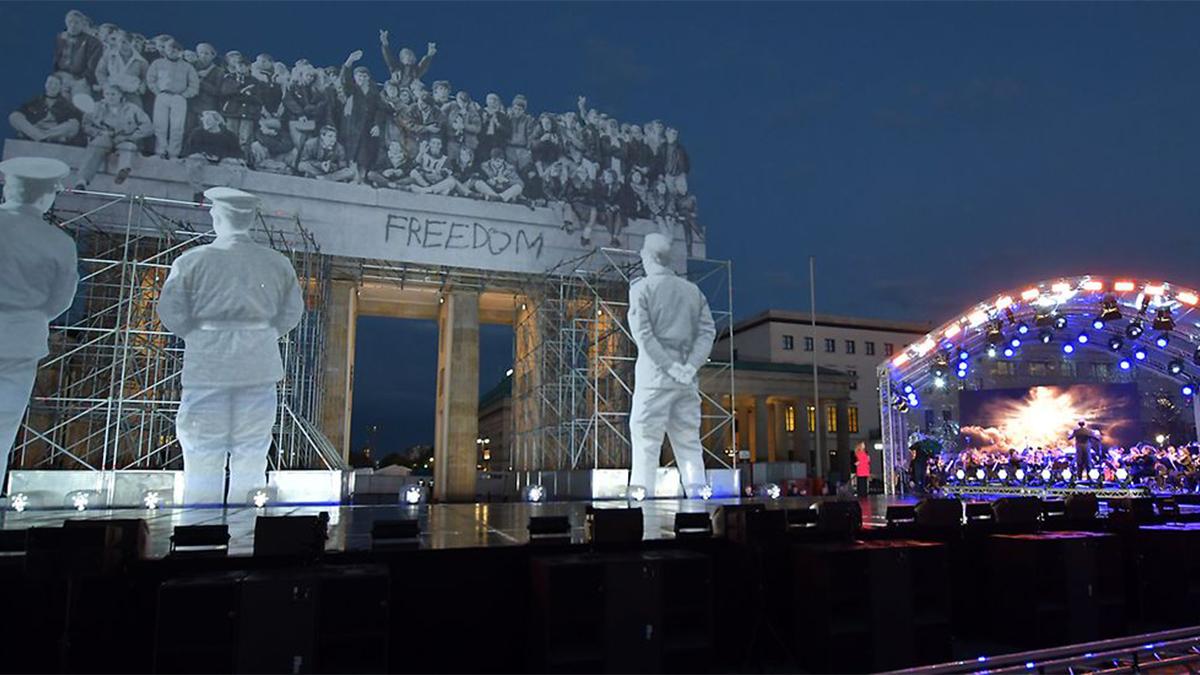 Alemania celebra 30 años de Unidad. - Festmeile zum Tag der Deutschen Einheit, © dpa