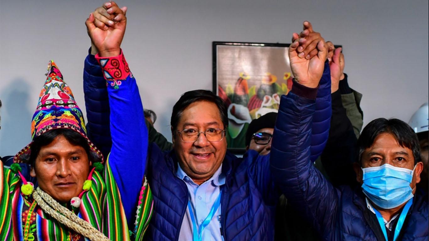 """Luis Arce: """"Hemos recuperado la democracia"""""""