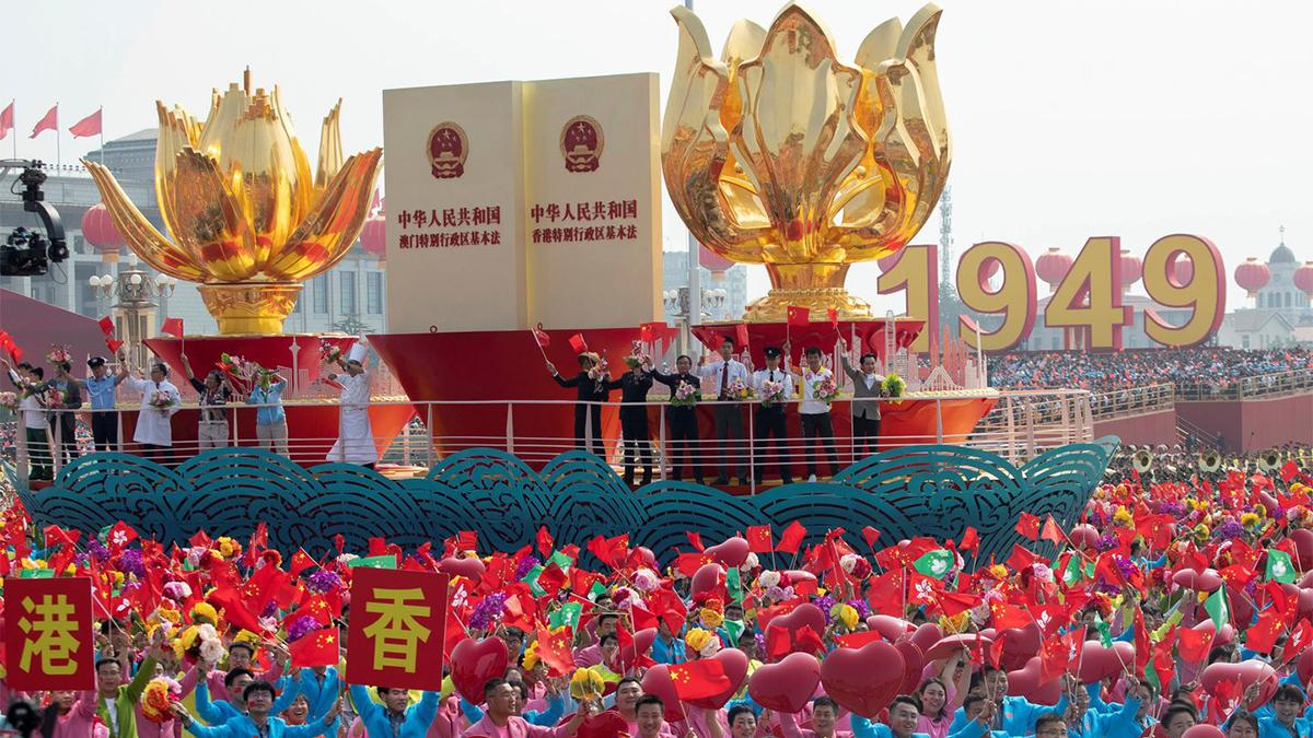China festeja su Día Nacional