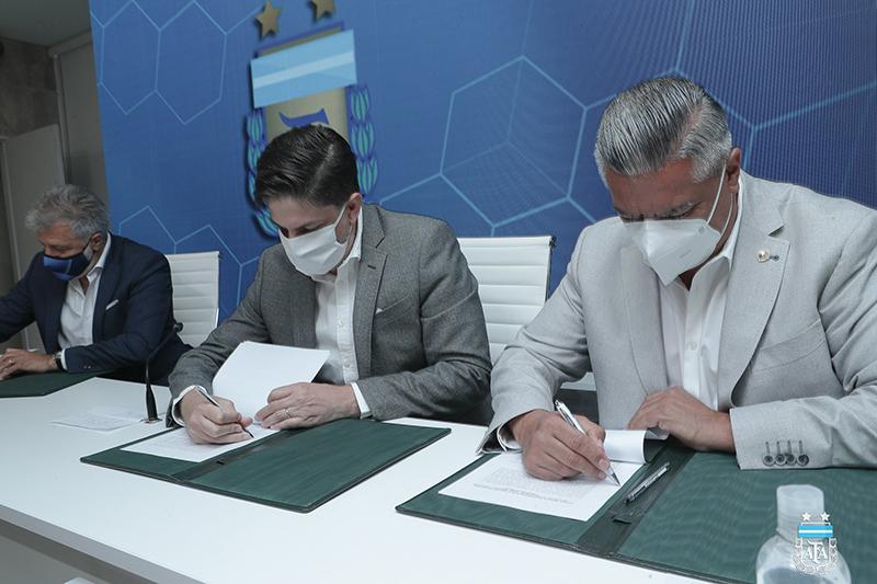 Nuevo convenio entre AFA, el Ministerio de Educación y Futbolistas Argentinos Agremiados