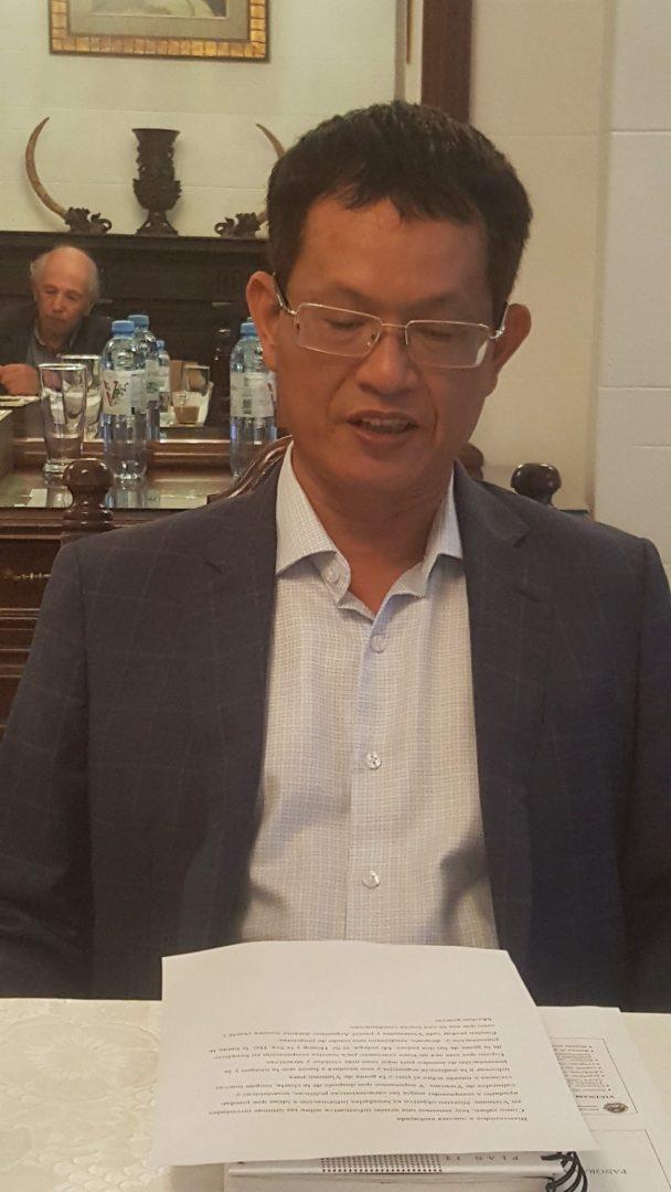 Embajador Plenipotenciario de la República Socialista de Vietnam en Argentina S.E. Sr. Duong Quoc Thanh
