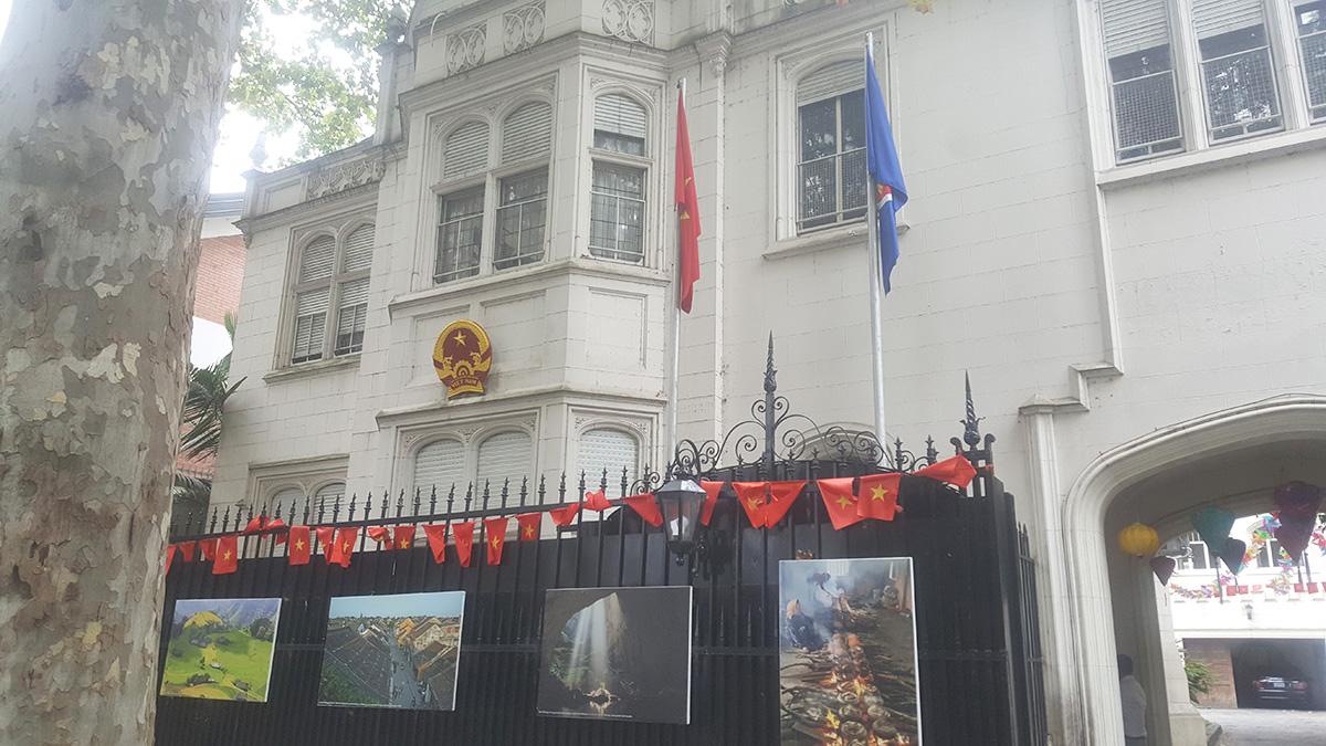 Embajada de la República Socialista de Vietnam en Argentina.
