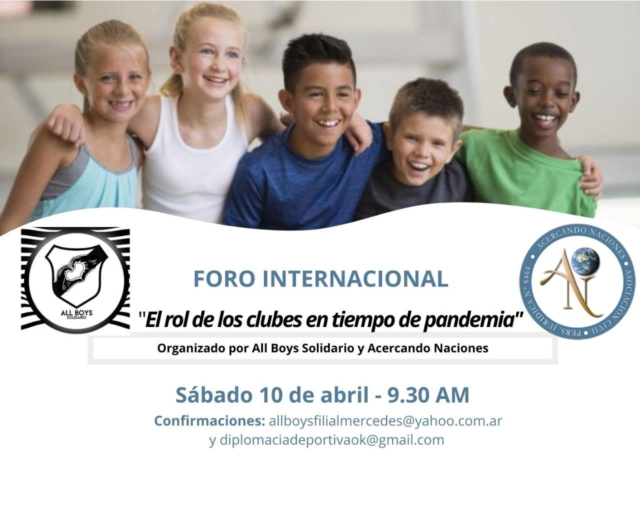 Evento en el Día Internacional del Deporte