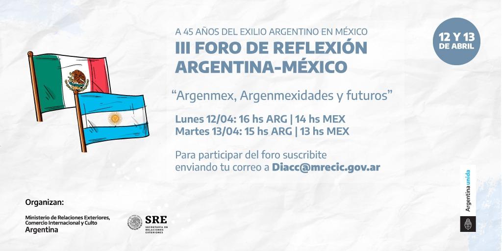 """ARGENMEX, ARGENMEXIDADES Y FUTUROS""."