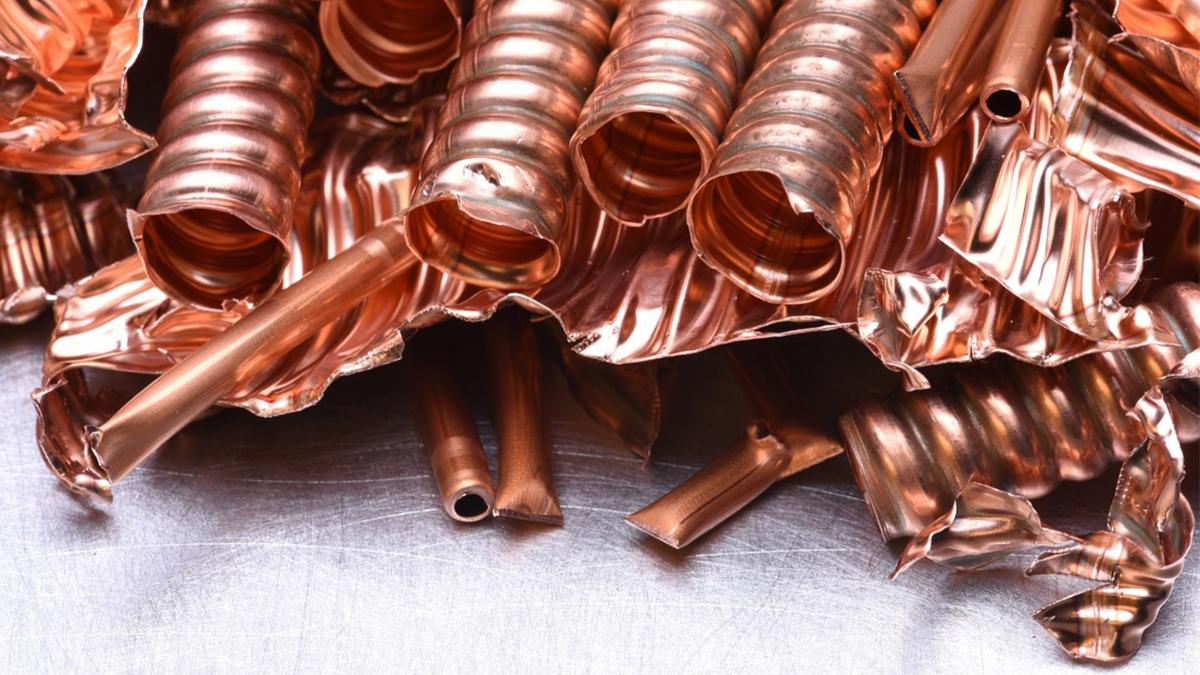 Entre todas las materias primas EE.UU necesita cobre en enormes cantidades.