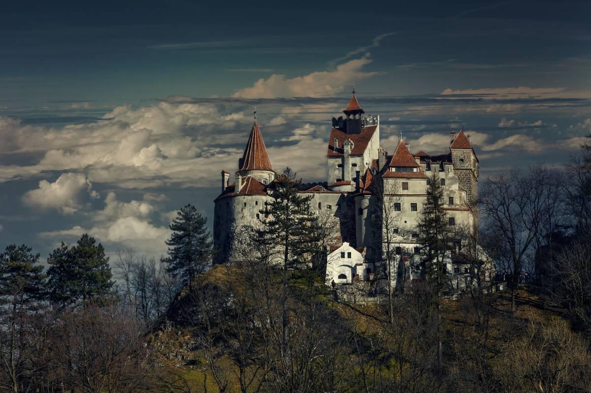 "Imagen del famoso ""Castillo de Drácula"" en Transilvania"