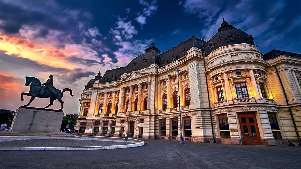 Bucarest, capital de Rumania