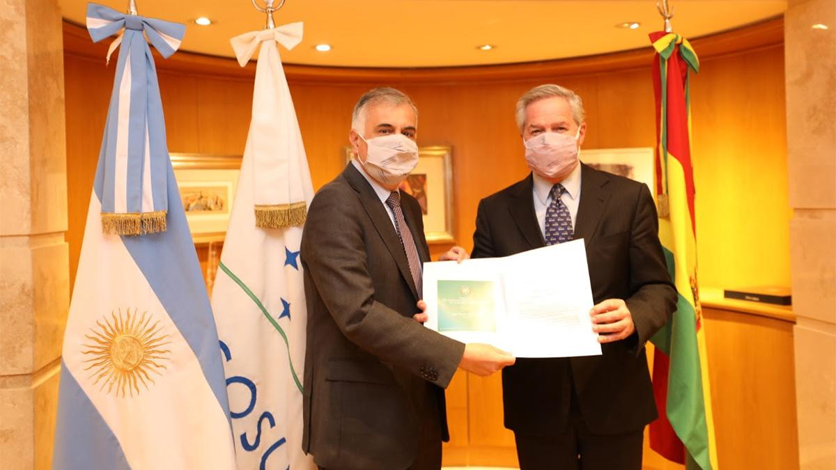 Bolivia tiene nuevo Embajador en Argentina