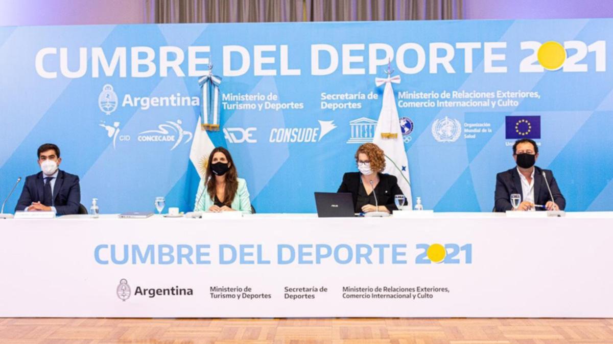 Comenzó la Cumbre del Deporte en la Argentina
