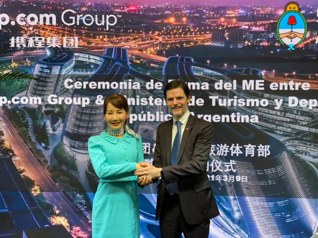 Acuerdos turísticos. un eje que busca el Embajador en Beijing para avanzar con China.