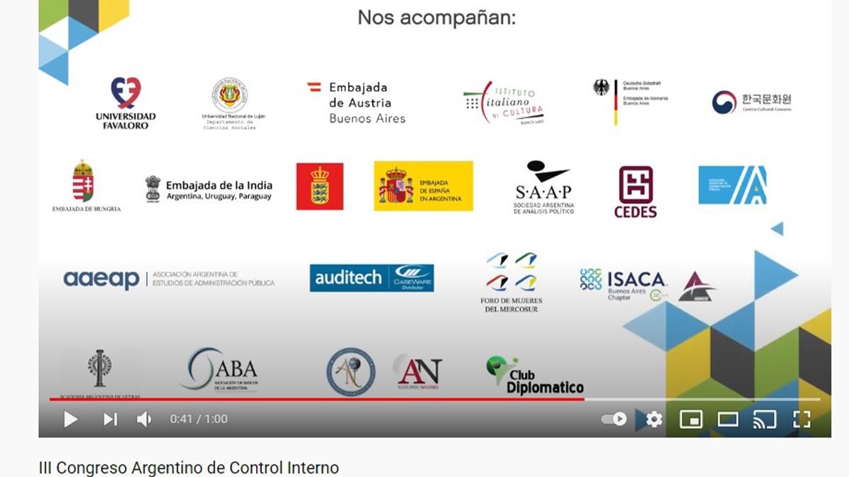 """""""III Congreso Argentino de Control Interno"""""""