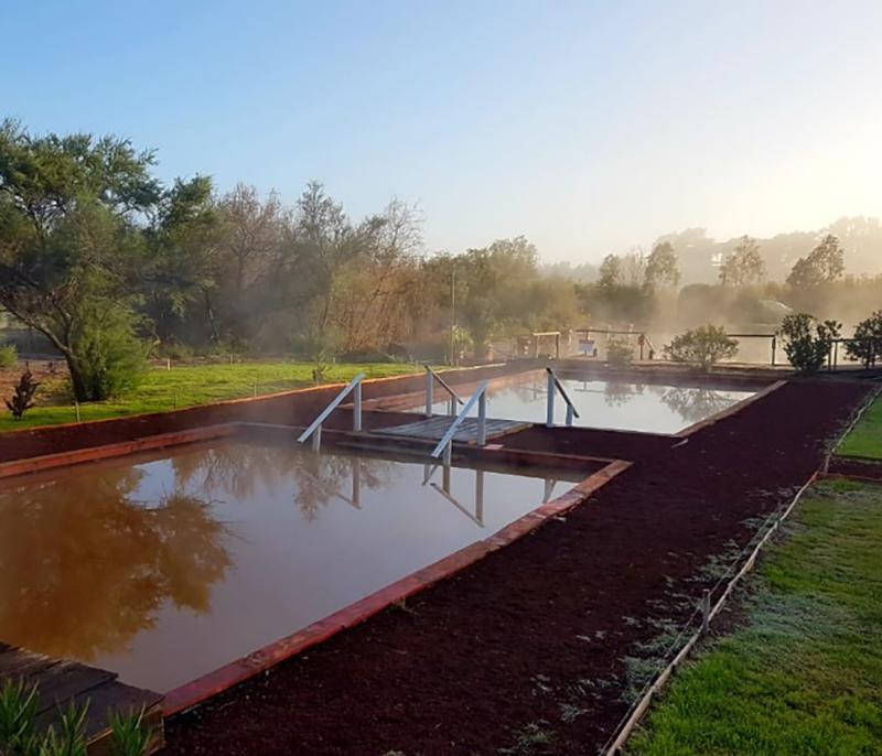 Aguas termales y milenarias de Villarino