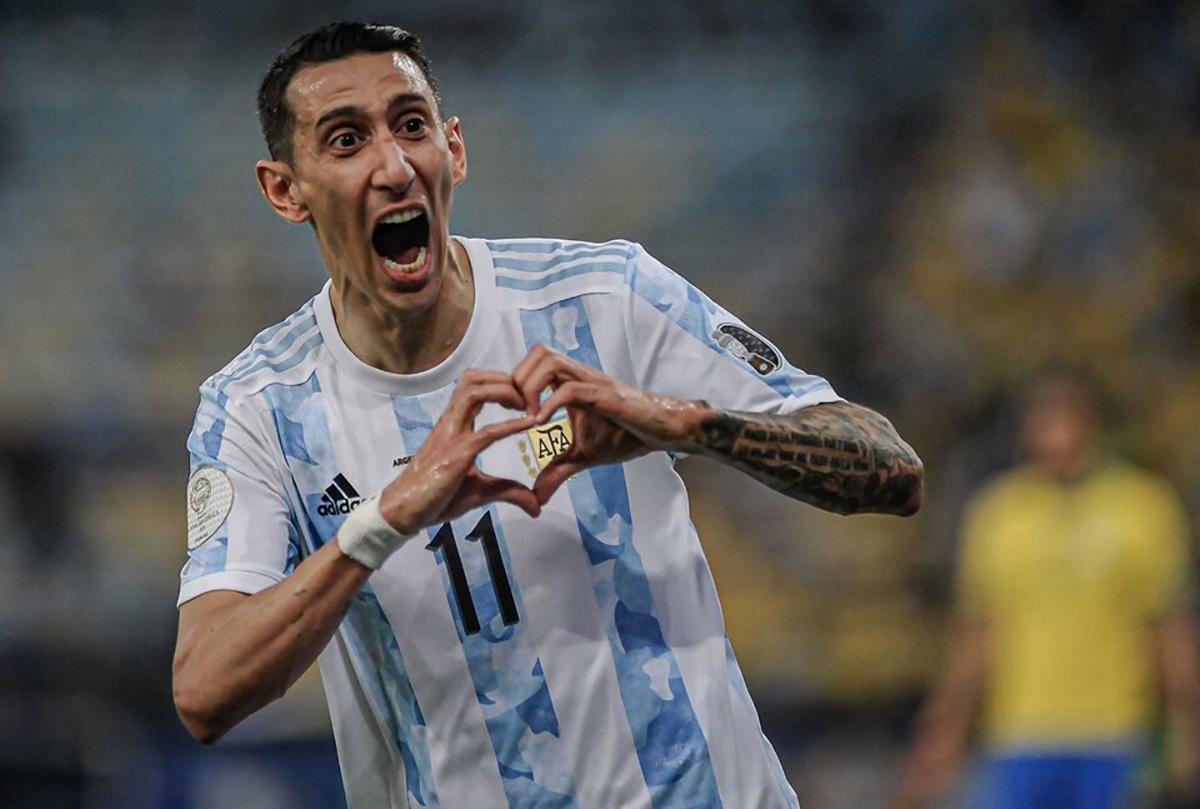 Ángel Di María, el gol que cambió el destino de Argentina