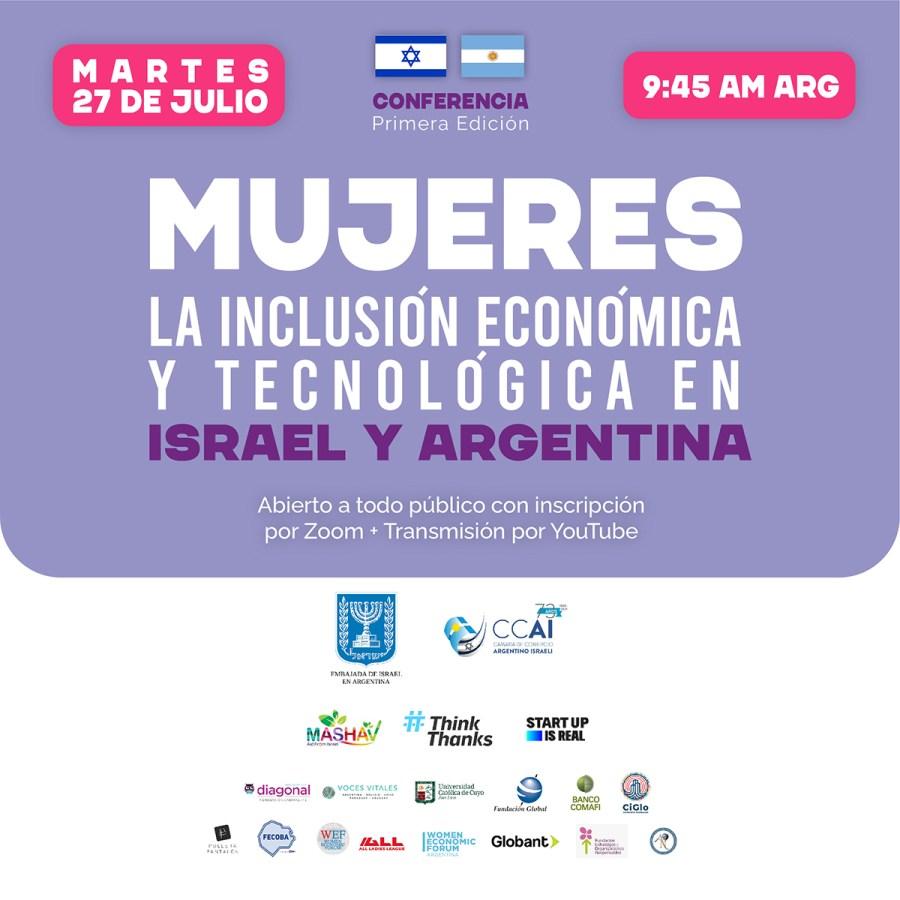Mujeres: inclusión económica y tecnológica en Israel y en Argentina