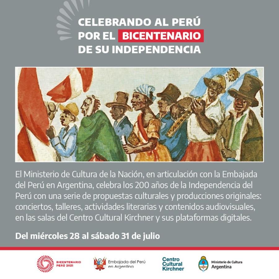 Celebrando al Perú
