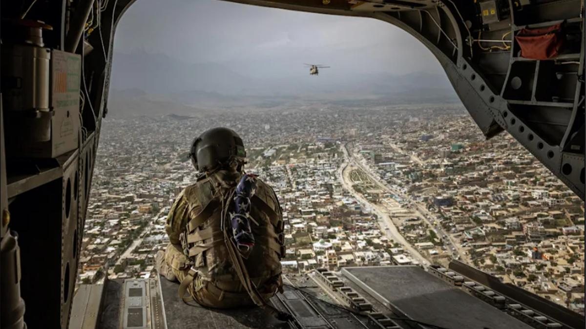 En  Irak y Afganistán,  Estados Unidos perdió la fe en sí mismo ?