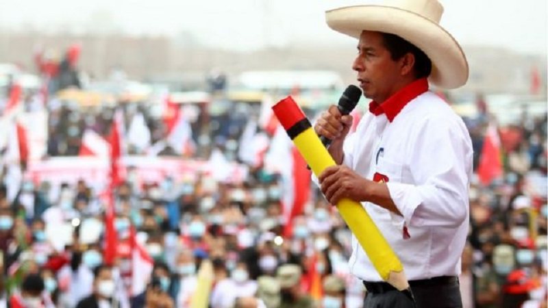 Pedro Castillo. Presidente de Perú