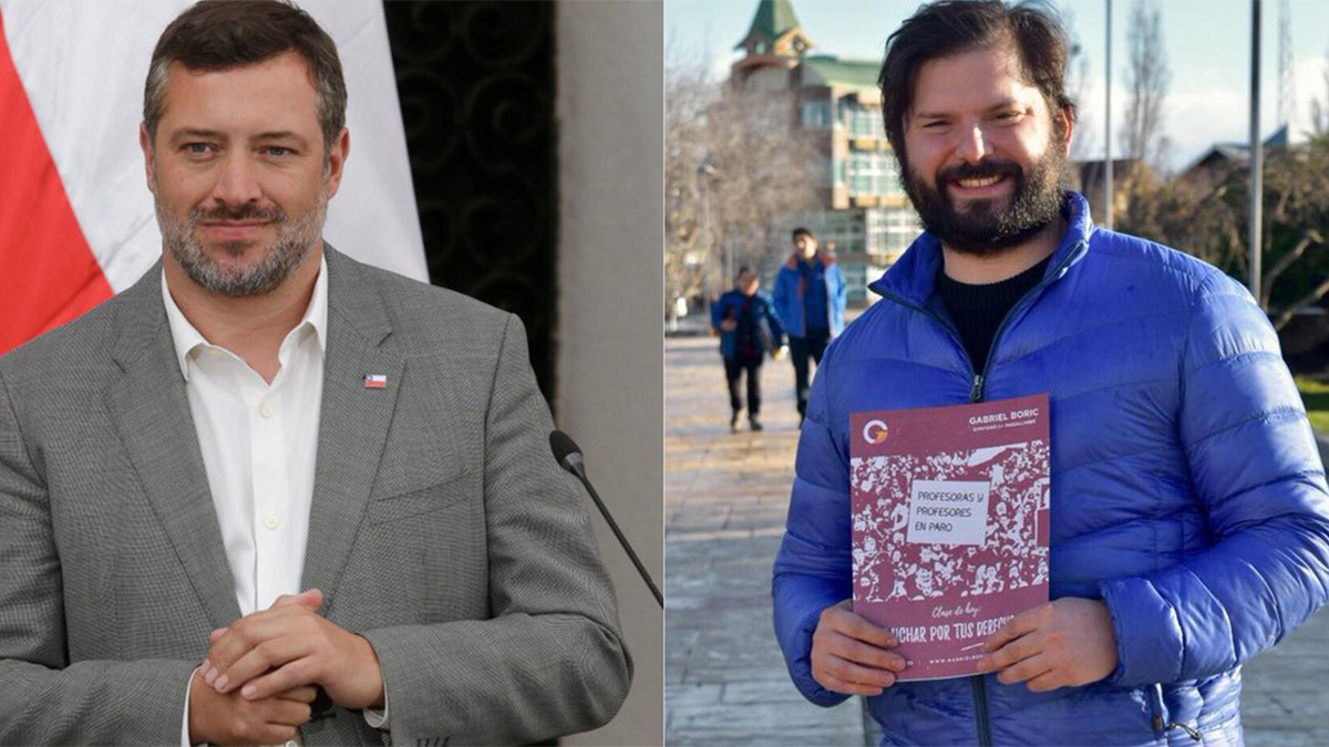 Gabriel Boric y Sebastián Sichel, la renovación joven en Chile