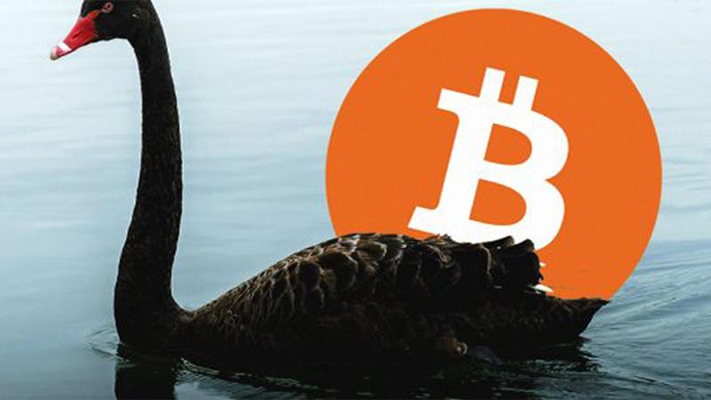 Criptomonedas: se acerca un cisne negro