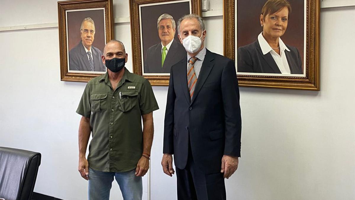 La gestión se concretó luego de un trabajo conjunto entre las autoridades sanitarias (SENASA) de ambos países y la Cancillería argentina.