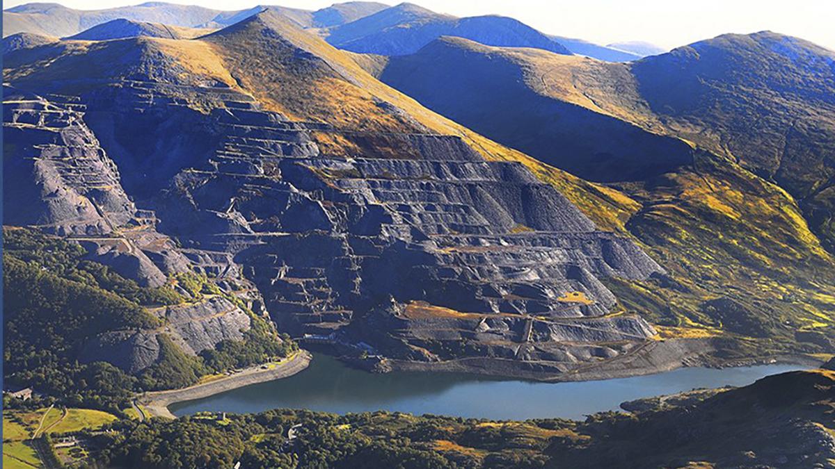 El sitio en serie comprende seis componentes, cada uno de los cuales incluye canteras y minas relictas