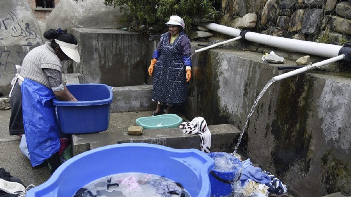 Para las mujeres bolivianas, el agua es fuente de vida… y de desigualdades persistentes