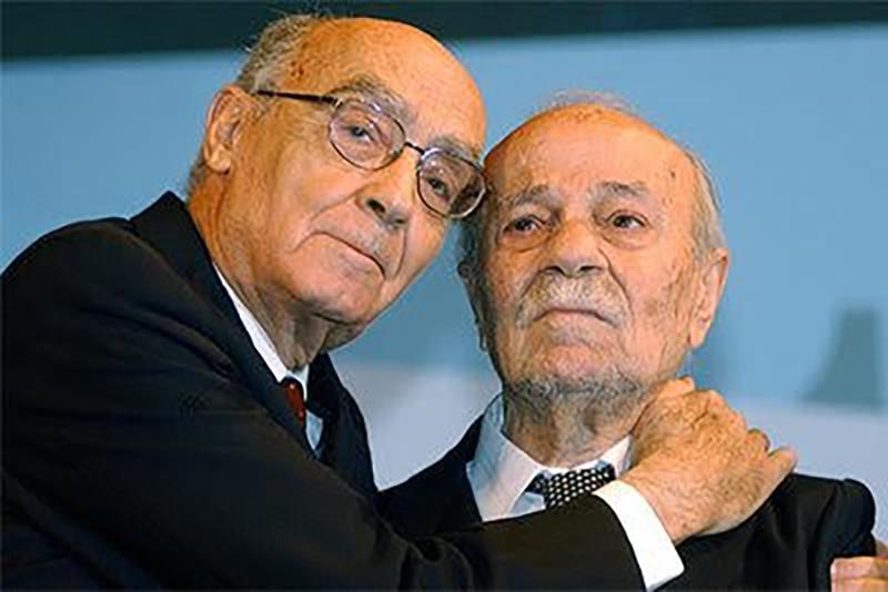 José Saramago elige para rendirle tributo al escritor argentino Ernesto Sábato
