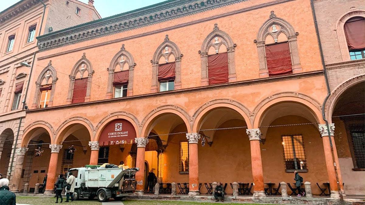 Sitios en Italia – Pórticos de Bolonia
