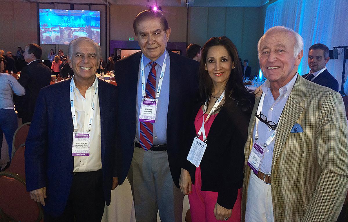 De izquierda a derecha, Alejandro Bulgheroni, Guillermo Pereyra, Patricia Pitaluga y Santiago Soldati