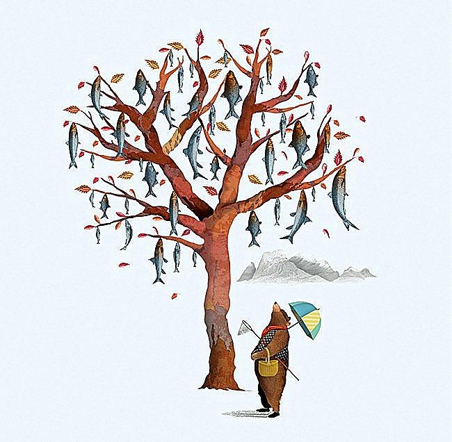El árbol de pescado