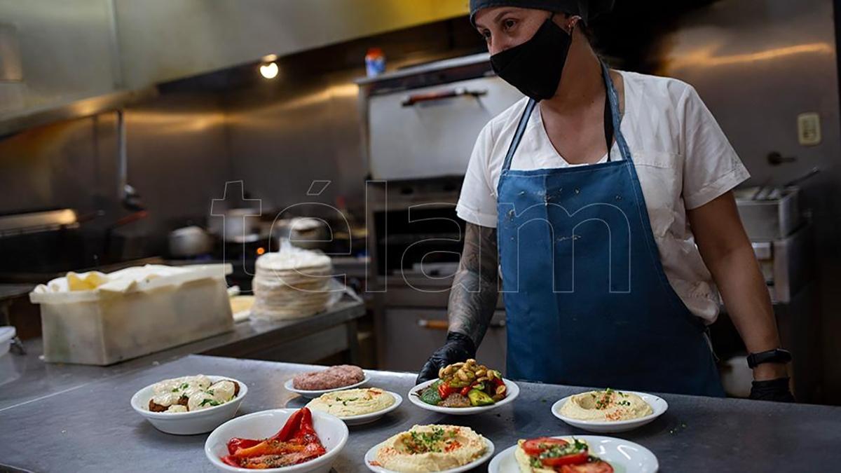 La comida armenia se ganó un lugar en la gastronomía porteña. (Foto: Victoria Gesualdi)