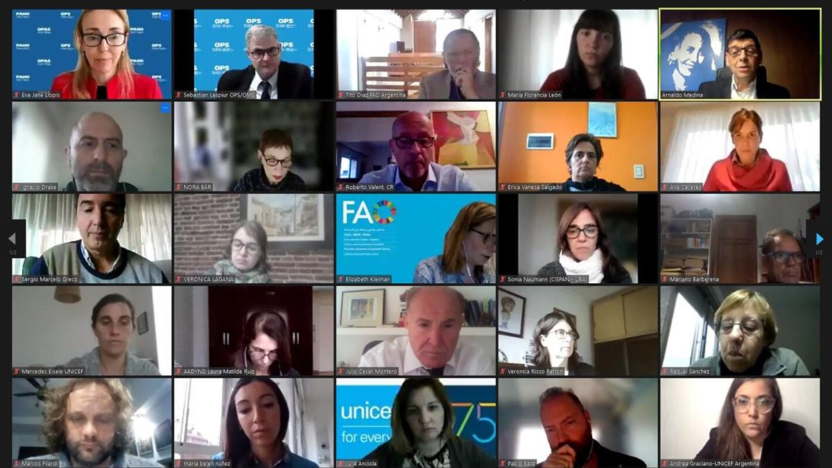 Legislación sobre etiquetado frontal de advertencias en Argentina