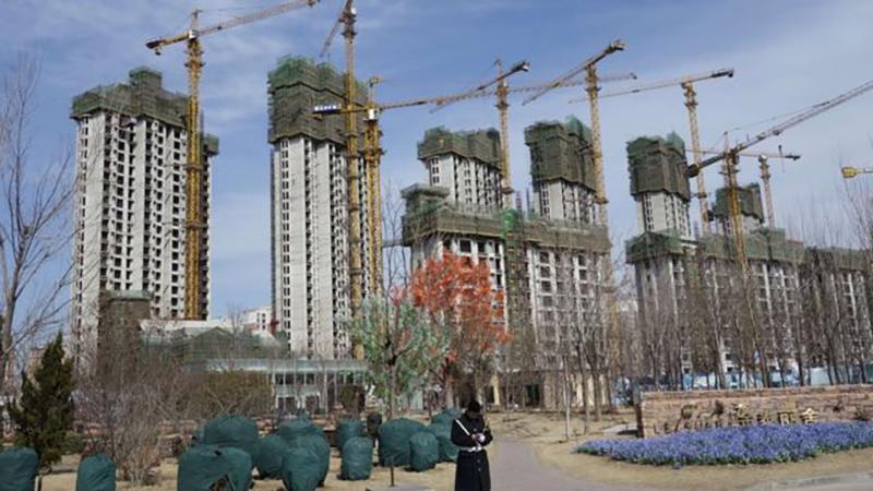 Algunos proyectos de Evergrande ya han quedado en suspenso
