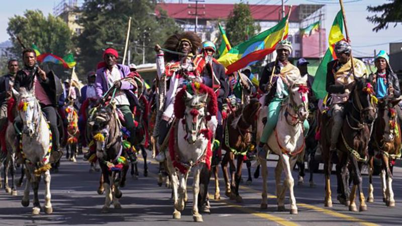Cada año, en Etiopía, se celebra un desfile para conmemorar la Batalla de Adwa: en marzo pasado se conmemoró el 125 aniversario.