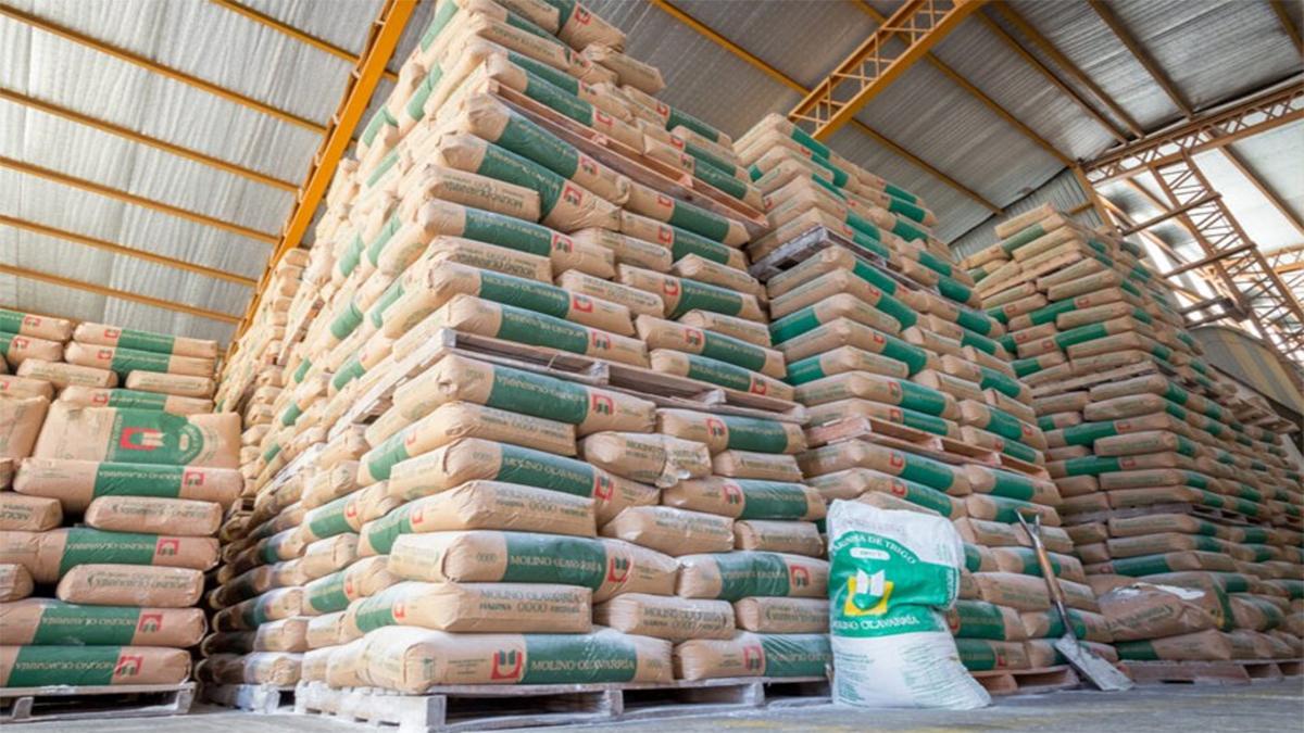 Inflación por impacto externo - El alza del precio internacional del trigo derivó en aumentos de la harina en el mercado local.