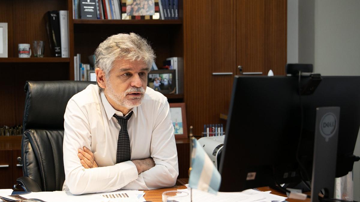 Los ministros Filmus y Molina Ortiz, se reunieron en el marco del trabajo conjunto entre Argentina y Bolivia en materia de investigación del litio.