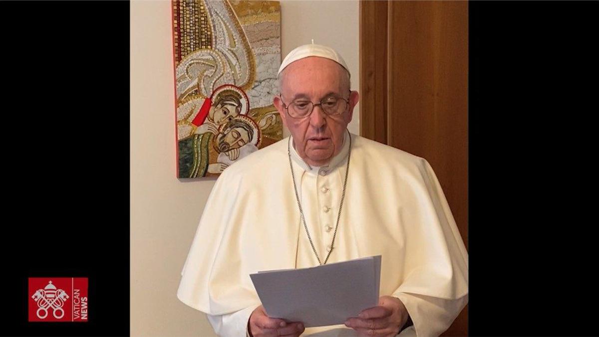 """El Papa a jóvenes de """"Economía de Francisco"""": poner la fraternidad al centro"""
